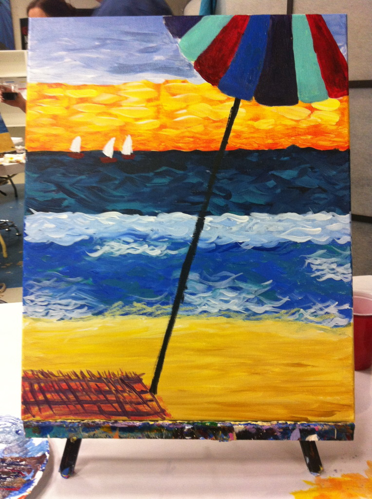 Painting Beach