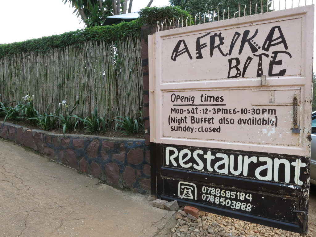 Restaurant Africa Bite Kigali