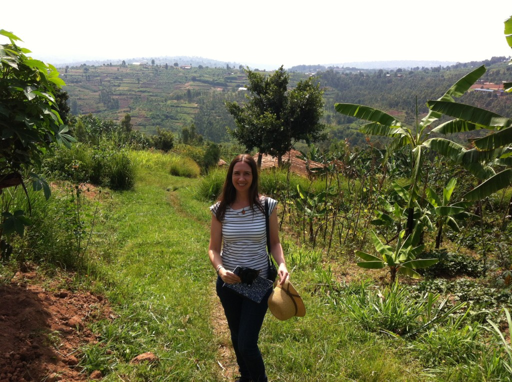 Climbing Rwanda's hills