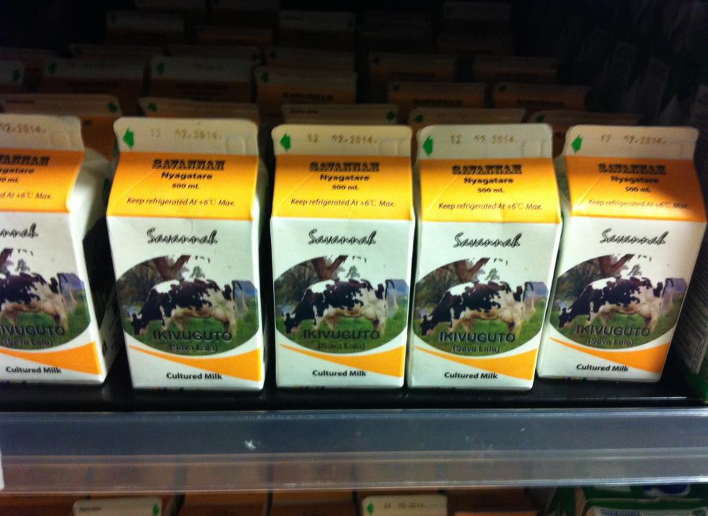 Rwandan milk