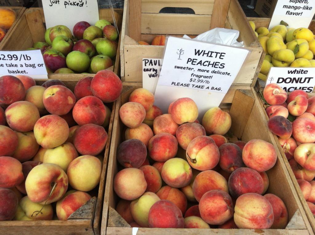 Dupont Circle Farmers Market Peaches