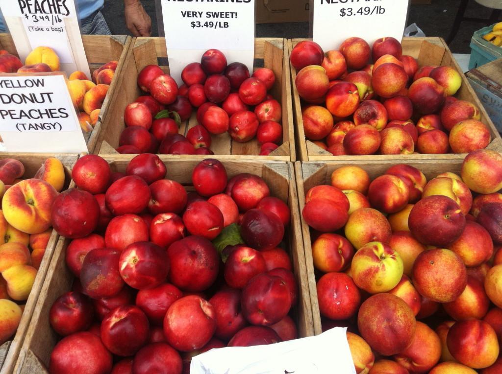 Dupont Circle Farmers Market Nectarines