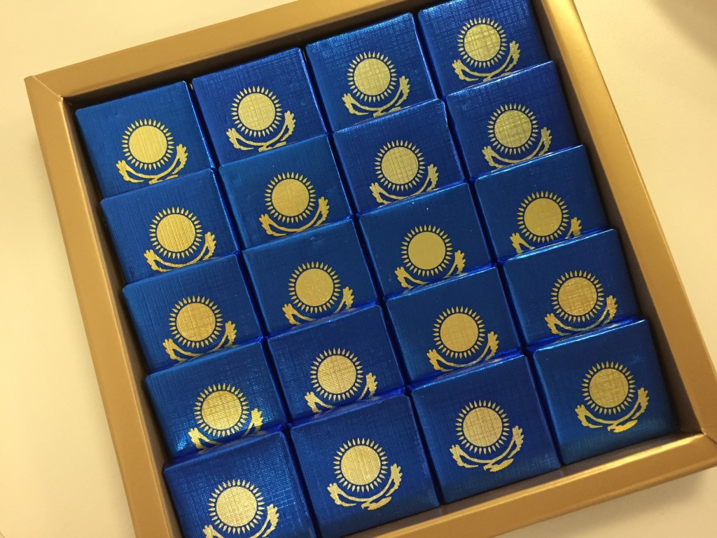 Kazakh chocolate