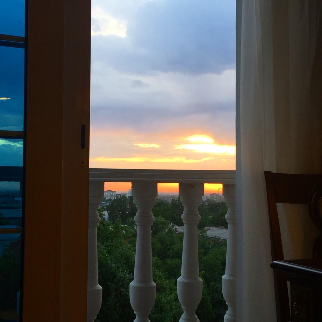 Almaty Sunset View