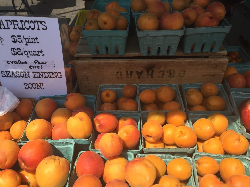 Apricots Farmers Market Dupont Circle