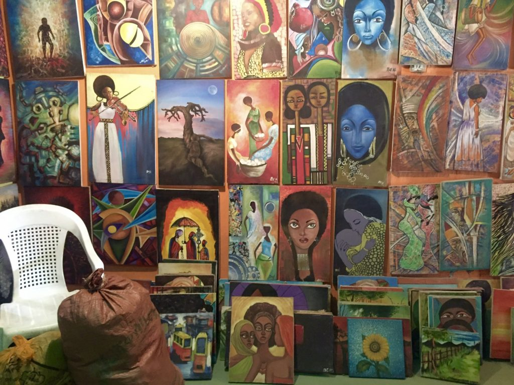 Addis Ababa art gallery