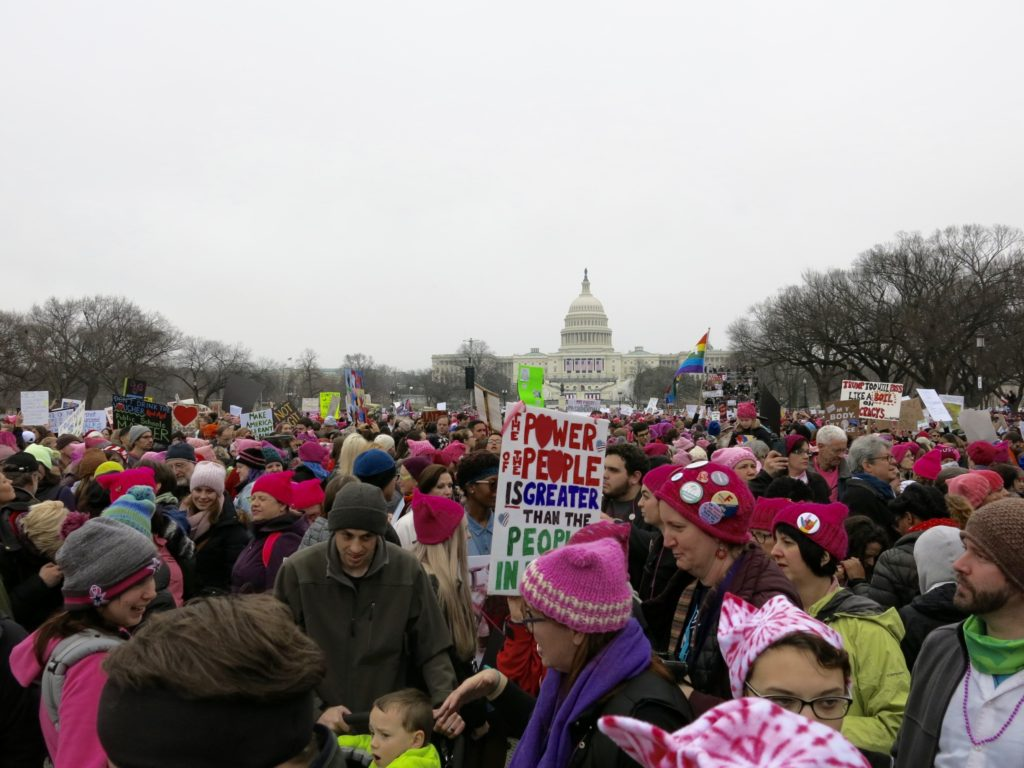 The Womem's ;March on Washington